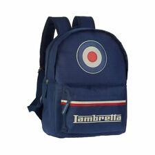 Lambretta Logo Blue Laptop Backpack - School Bag