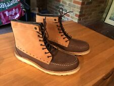 Grinder Boots By Penguin Brown Two-tone UK 9.5
