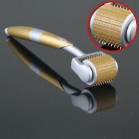 Anti-ageing ZGTS Luxury Titanium Micro Needle Therapy Derma Roller Meso Roller