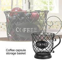 Universal Coffee Capsule Storage Basket Coffee Cup Basket Vintage Holder New