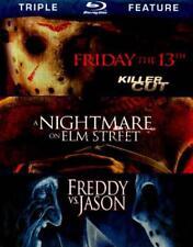 Friday The 13Th/Nightmare On Elm Street/Freddy Vs. Jason New Blu-Ray