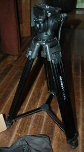 Magnus VT-3000 Tripod system with Fluid head NEW w' case video & digital camera