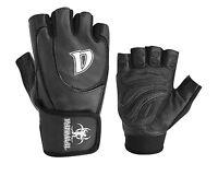Gym Gel Weight Lifting Body Building Gloves Gym Training Wrap Leather Grip Dani