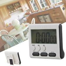 1pcs Large LCD Digital Kitchen Cooking Timer Count-Down Up Clock Loud Alarm UP