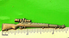 M-1 Garand with scope rifle - hat pin , tie tac , lapel pin GIFT BOXED 16010*