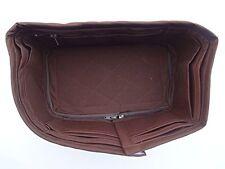 Speedy 35 LV Bag organizer Insert  Base Shaper Handbag Chocolate Brown Color