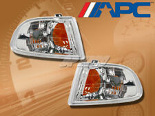 APC EURO CLEAR LENS CORNER TURN SIGNAL LAMPS LIGHTS FOR 92-95 CIVIC 2DR 3DR HB