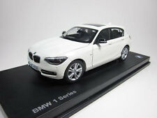 Model Car; BMW 1 Series 5-Door  1:18 scale  White   80432210021