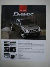 ISUZU D-MAX 2.5 3.0 D-MAX Pickup German Market Prospekt Brochure