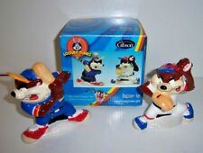 Looney Tunes Batter Up Taz Salt and Pepper Set by Gibson - New 2003