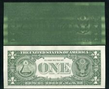 "(2) CONSECUTIVE 1985 $1 FRN'S ""MAJOR OVER INKING ERROR"" UNCIRCULATED"