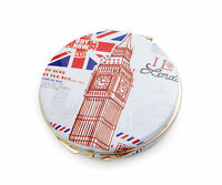 Ladies London Print Compact Mirror