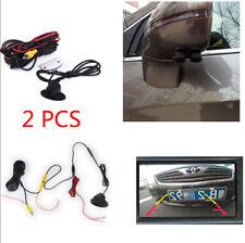 360° HD Rotatable Waterproof Car Front Side Rear View Backup Camera Parking Kit