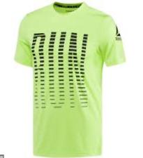 Reebok Mens Size L Running Activchill Tee T-Shirt Top BNWT Moisture Wicking