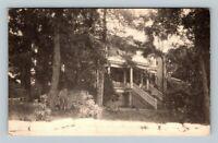 Herring Hall, Vintage Natural Bridge Virginia Postcard