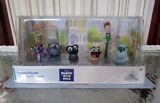 Disney Store Puppy Dog Pals 6 Figure Playset Figurine Play or Cake Toppers NEW!