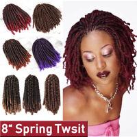 1/3/5 Pack Curly Wavy Spring Twist Braiding Braids Hair Extension Crochet Women