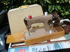 Antique Old Vintage Hand Crank & Electric  Singer sewing machine Model  201k