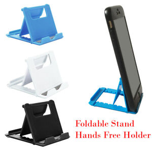 Universal Foldable Mobile Phone Tablet Stand Portable Adjustable Holder Desk