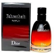 Christian Dior Fahrenheit 2.5 oz.Parfum Spray for Men. Brand New in Sealed Box.