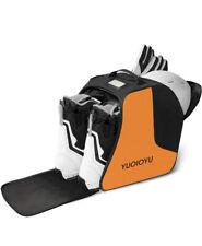 YUOIOYU Ski Boot Bag Waterproof Snowboard Boots Bag Travel orange winter