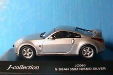 NISSAN 350Z NISMO SILVER JCOLLECTION JC060 1/43 JAPAN J-COLLECTION ARGENTE