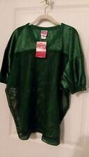 NWT RAWLINGS Green Mesh Polyester S/S V NECK  SHIRT Men XL