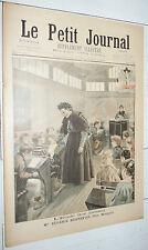 PETIT JOURNAL 1897 EUGENIE BONNEFOIS / POMPIERS LONDRES / INSECTES NUISIBLES
