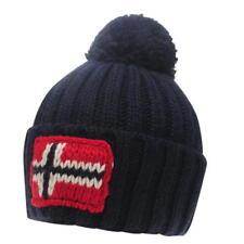 Napapijri Beanie Hat RRP £35 NAVY 8576d17af039