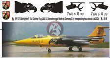 Peddinghaus 1/48 German F-104G Starfighter Kanarienvogel JaboG 33 Buchel 1375