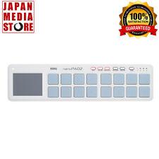 KORG USB MIDI NANO PAD2 nanoPAD2 Controller White 100% Genuine Product