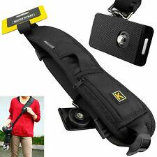 DSLR SLR Shoulder Belt Strap Single Cameras Canon Sony Nikon Neck Hand Grip UK