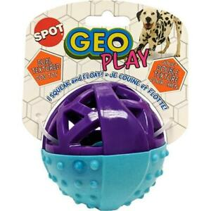 Spot 54531  Geo PlayBall Dual Texure Dog Toy Assorted