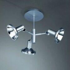 Massive 56263/48/10 lampe plafond pour 3 spots 60W G9 acier chromé
