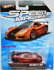 HOT WHEELS SPEED MACHINES MCLAREN F1 GTR RED BAD CARD