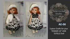 "Lingerie Lou Vtg Doll Clothes Dress Pattern ~ 9/"" 10/"" Ann Estelle Linda McCall"
