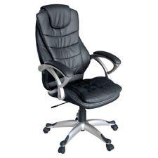 Hauteur reglable en Noir similicuir My Sit Siege de bureau Chicago