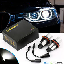 2x Led Angel Eyes Auto Standlicht Kit Marker Für BMW 1er 5er X3 X5 E39 E60 E61