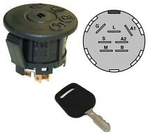 IGNITION STARTER SWITCH & KEY for Husqvarna 532163968 532175566 583068901 Mowers