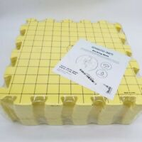 New Crafts Blocking Mats for Knitting 9 Pack Yellow Interlocking Boards w/ Grids