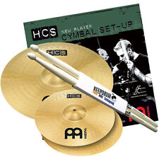 Meinl hcs1416 HCS Bacino Set 14 hh/16 Crash + TAMBURI Drumsticks GRATIS!!!