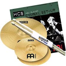 Meinl HCS1416 HCS Becken Set 14 HH/16 Crash + Keepdrum Drumsticks