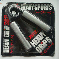 Heavy Grips Hand Grippers New gripper Damaged Packaging + Finger Exercise Bands
