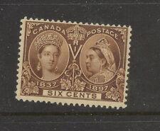 Canada   55   Mint  hinged      catalog  $230.00         MS1205
