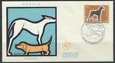 Monaco Sc. 759 International Dog Show Doberman Pinscher on 1970 Fdc