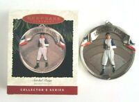 Satchel Paige Baseball Heroes Series Vintage Hallmark Keepsake Ornament 1996 NEW