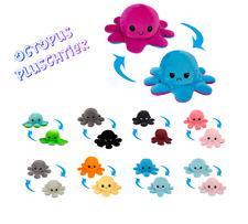Flip Plüschtier Kinderspielzeug Toy Oktupus Wende Plüschtier