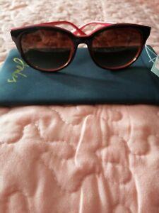 WOMEN SUNGLASSES JOULES SOUTHWOLD JS7014 BLACK&RED RRP.65,00 FILTER CAT.3 UVA...