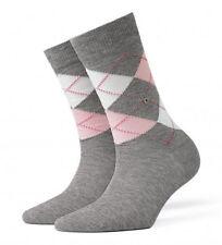 Burlington Cotton Blend Argyle, Diamond Socks for Women