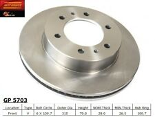 Disc Brake Rotor-Standard Brake Rotor Front Best Brake GP5703